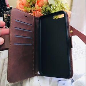 Accessories - For Iphone6/6S/7Plus Leather Wallet Phone Case